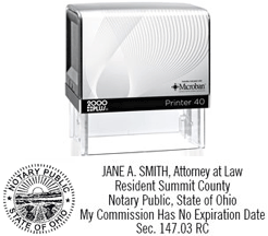 PTR60ANSWS - Printer 60 Attorney Notary Stamp w/Seal