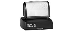 HD35 - 2000 Plus HD-35 Pre-Inked Stamp,br>1-3/16in X 2in