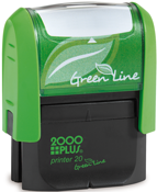 Green Line Printer 20<br> 9/16in. x 1-1/2in.