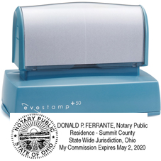 EP50NSWS1 - EP-50 evostamp Pre-Inked Stamp<br> Notary Stamp w/Seal