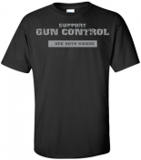 """GS3 - Gun Shirt 3 <p><strong><span style=""""font-size: 20px; font-family: Tahoma;"""">SUPPORT<br /> GUN CONTROL<br /> ... USE BOTH HANDS</span></strong></p>"""